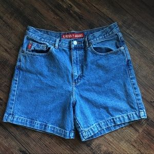 Y2K Vintage Size 29 Guess Jeans Mom Shorts